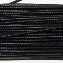 Codon Coton Ciré 1mm Noir