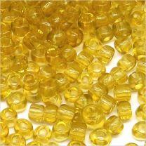 Perles de Rocailles en Verre Transparent 4mm cristal