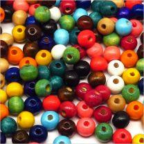 Lot de Perles en Bois 8mm